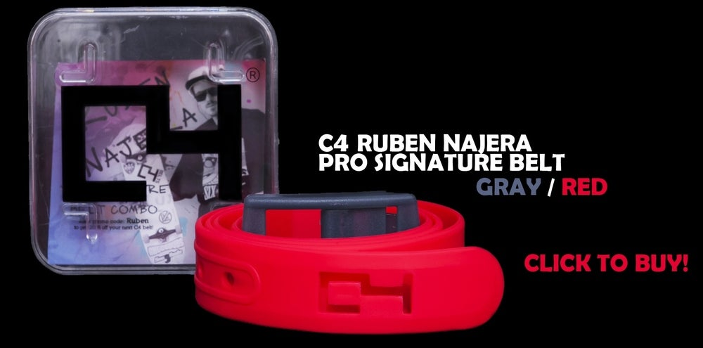 Image of Signature Ruben Najera C4 Belt