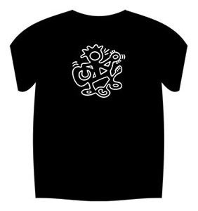 Image of Funky Man Logo T-Shirt (Black)