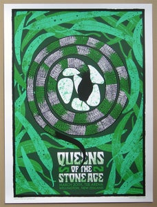 Image of Queens of the Stone Age poster New Zealand 03/20/08