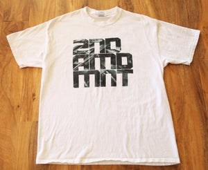 Image of [SAMPLE] 2NDAMDMNT GUN CAMO (WHITE)