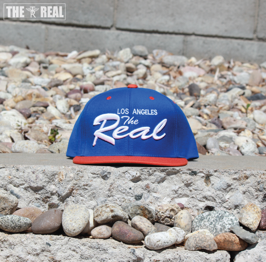 Image of TR LA Snapback (BLUE / ORANGE)