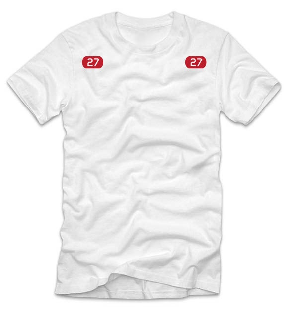 Image of Adult Kemp's Kids 27 Tee (White)