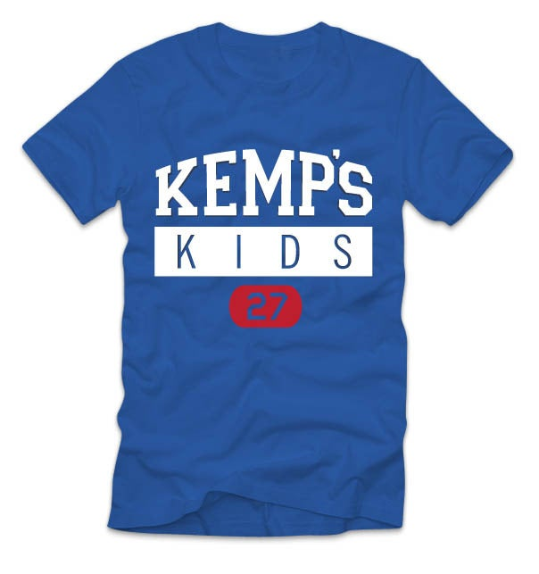 Image of Youth Kemp's Kids Logo Tee (Royal)