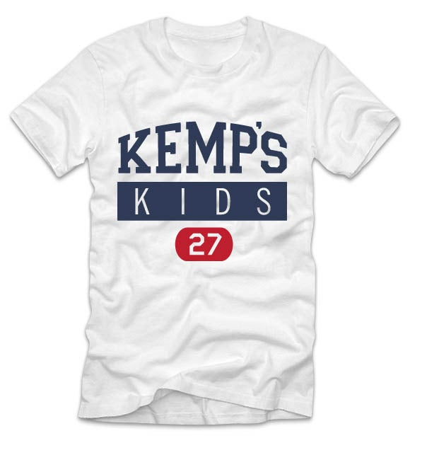 Image of Adult Kemp's Kids Logo Tee (White)