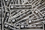 Image of YD Box Logo Decal 2 PACK