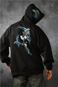 Image of Eagles Locked / Hoodie - Black