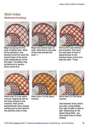 Image of Lattice Jumble Sampler Guide