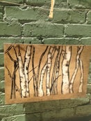Image of Aspen Trunks (on wood)