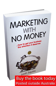 Image of Marketing with No Money - Printed Edition (posted outside Australia)