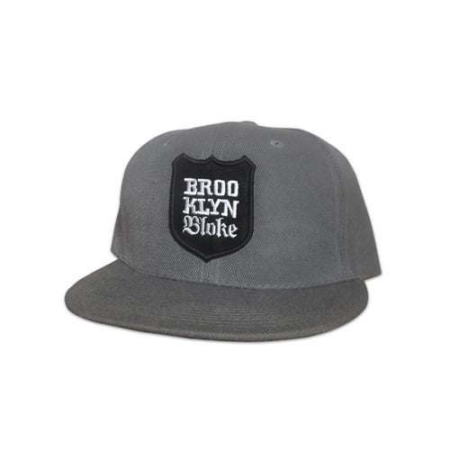 Image of BB Shield Snapback (Grey)