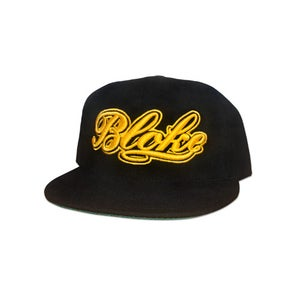 Image of BB Script Snapback (Gold Embroidery)