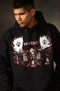 Image of Moose Skull / Hoodie - Black