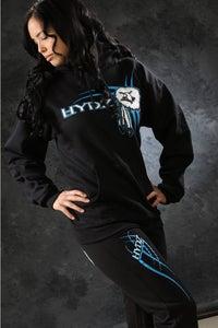 Image of Feather / Sweatpants - Black&Blue