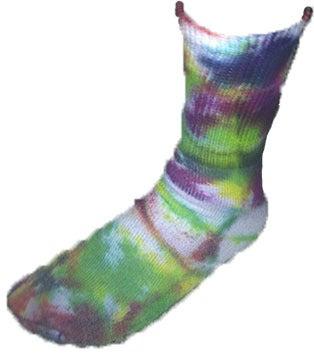 Image of Tye Dye Crew socks