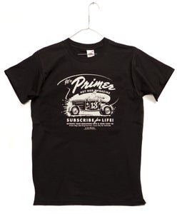 Image of Primer Magazine Black T-shirt
