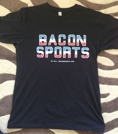Image of Bacon Sports Tecmo Bowl T-Shirt