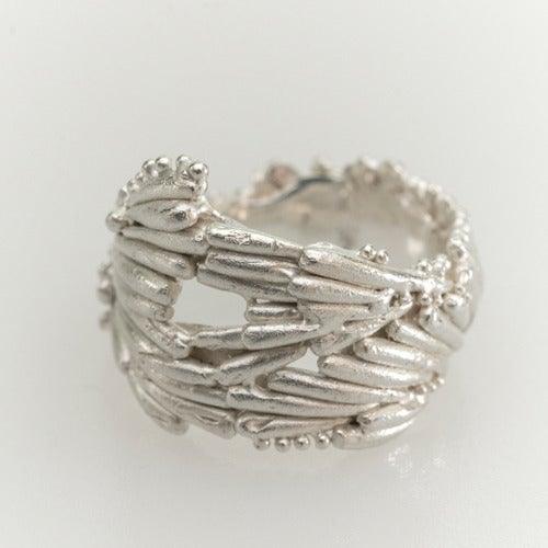 Image of Large Kelp Crown Ring