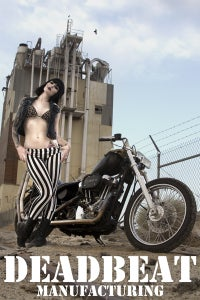 Image of Miss Holly Cakes: Cigs & Stripes (B) (20x30 POSTER PRINT)
