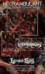 Image of NECRAMBULANT - Infernal Infectious Necro-Ambulatory Pandemic CD