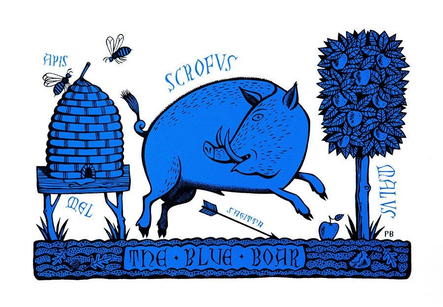 Image of Blue Boar