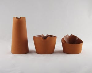 Image of Terra Cotta Vessel Set