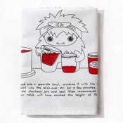Image of Hilda the Yetis's Heavenly Tomato Relish - Tea Towel