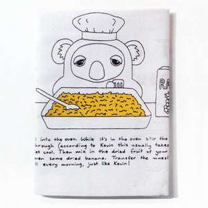 Image of Kevin the Koala's Terrific Toasted Muesli - Tea Towel