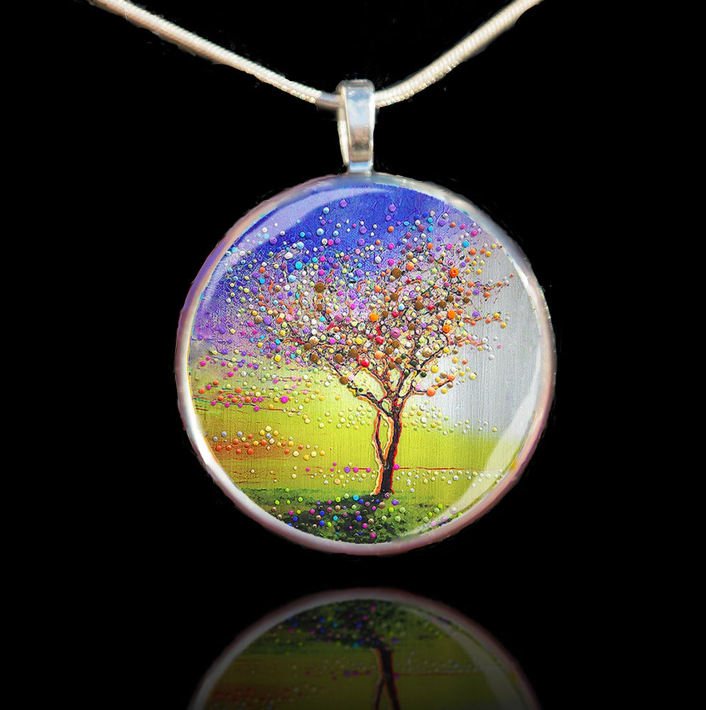 Image of The Peace Tree Pendant - Find Inner Peace