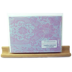 Image of vintage lace . . . . . . . petite notecard set