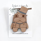 Image of Dapper Walrus brooch