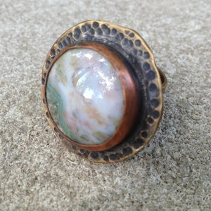 Image of Ocean Jasper Ring