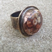 Image of Leopard Jasper Ring