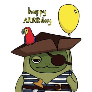 Image of Happy ARRRday - Birthday Card