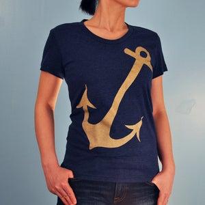 Image of Metalic Anchor Women's T-shirt