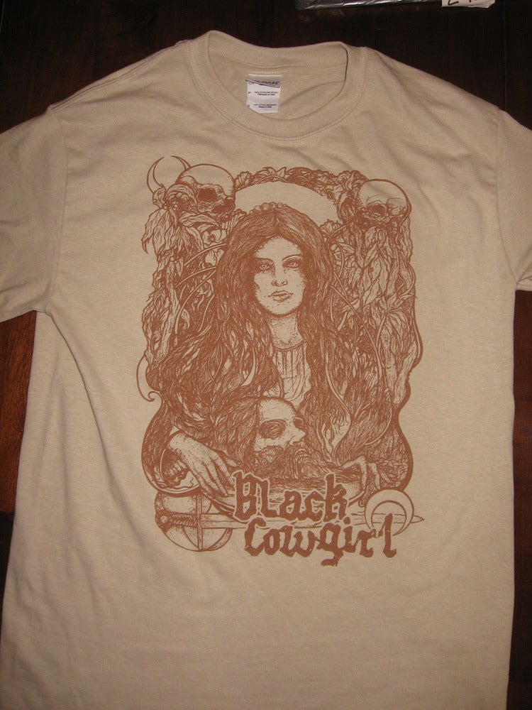 "Image of Black Cowgirl ""Salome"" shirt  (mens)"