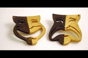 Image of Comedy & Tragedy Mask Studs