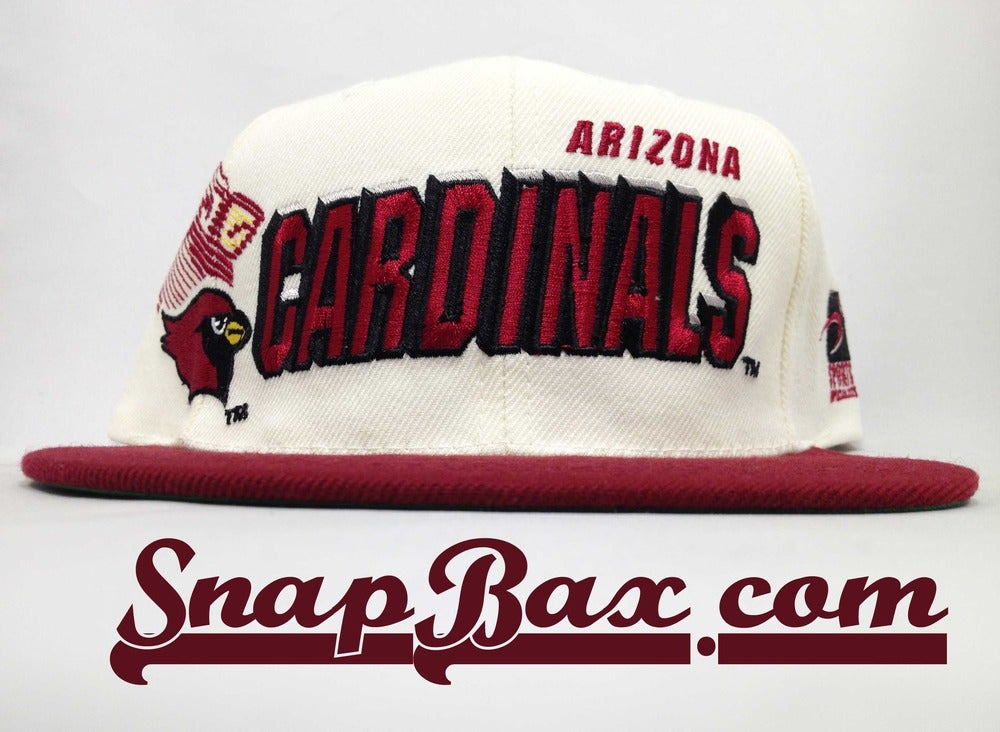 Image of Vintage Deadstock Arizona Cardinals Sports Specialties Shadow Snapback Cap