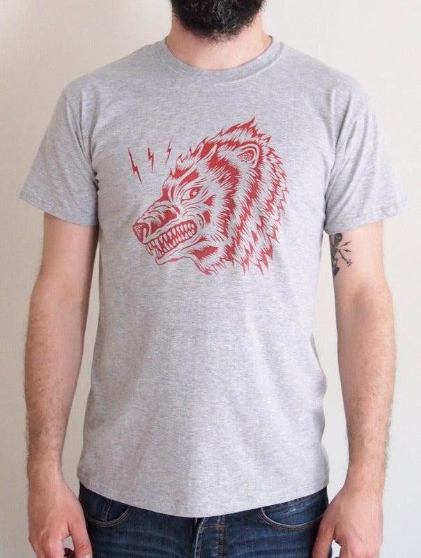 Image of Camiseta Oso Gris