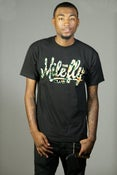 Image of The Mile Fly Club Classic Logo Tee (Army)