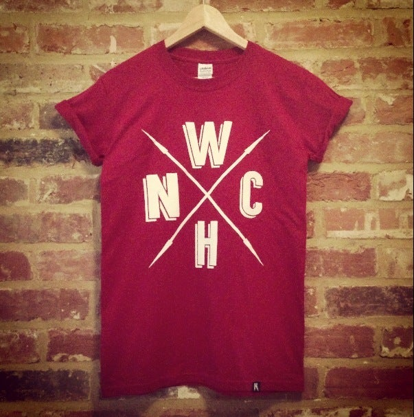 Image of Cardinal Red WNCH Tee