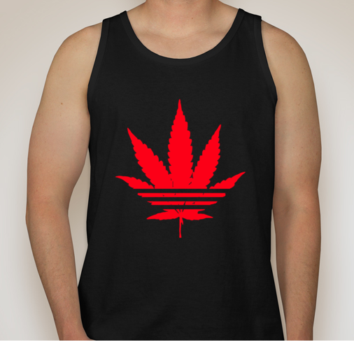 Image of HN Red and Black Tank