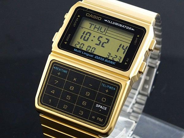 Image of Casio DBC-611 Digital Gold Watch