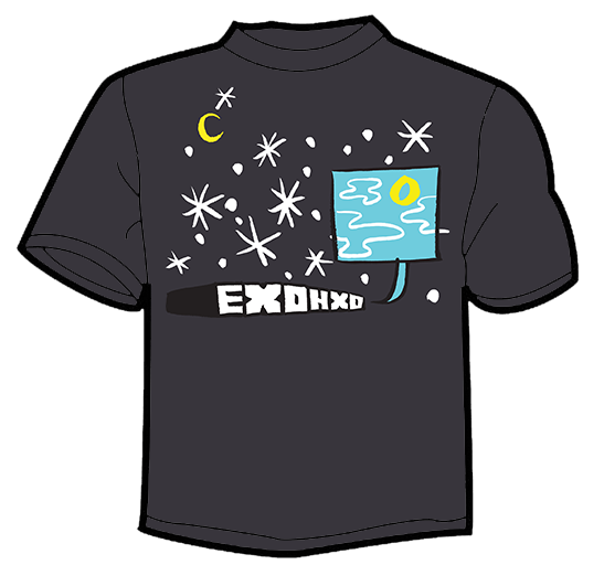 "Image of Exohxo ""Night Sky"" t-shirt"