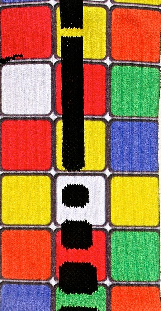Image of Rubik's Cube Custom Nike Elite Socks