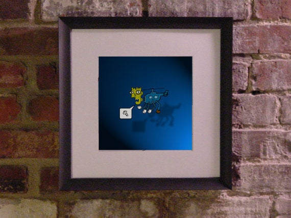 "Image of Specimen: The Helipede (8"" x 8"")"