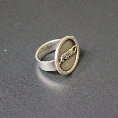 Image of CREST RING /// DAWN