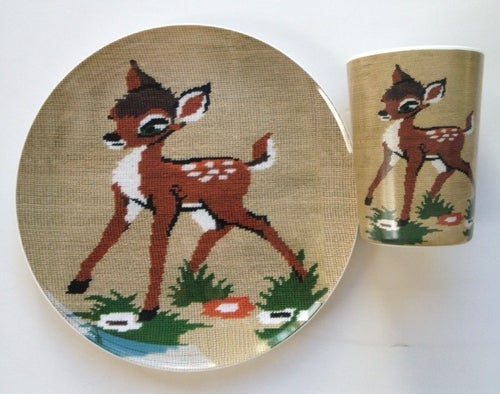 Image of deer cup