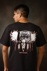Image of Moose Skull / Shirt - Black