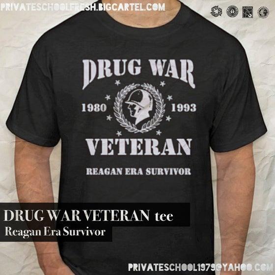 Image of Drug War Veteran tee (black)