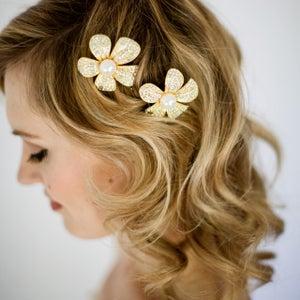 Image of LILY - Bridal Crystal Hair Pins